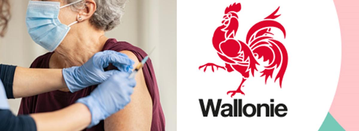 Opération « Re Vax 75+ » en Wallonie : Seconde chance de vaccination pour les citoyens âgés de 75 ans et plus.