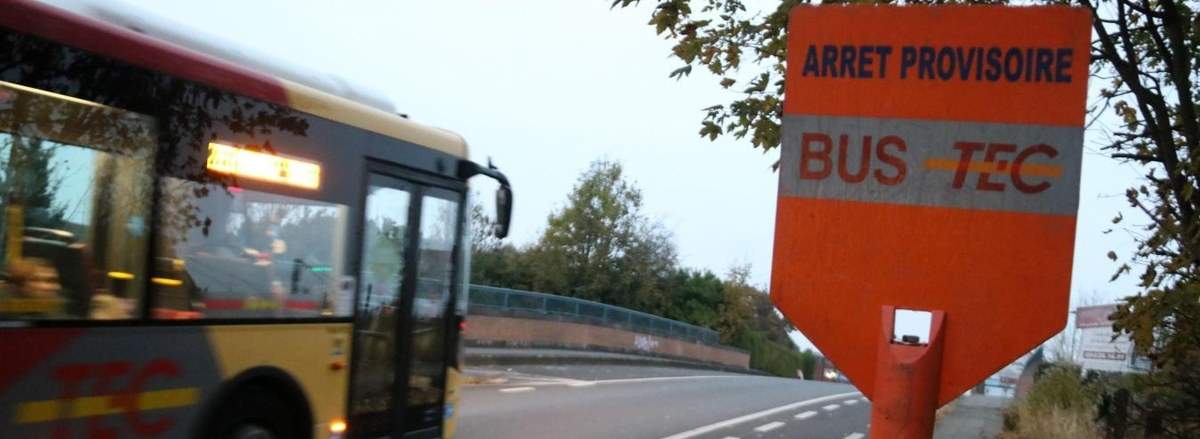 Vaccination :  un arrêt de bus TEC provisoire près de l'Espace Magnum
