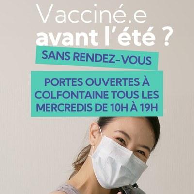 Vacciné avant l'été ?