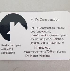 M.D. CONSTRUCTION