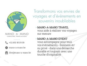 MANO - A - MANO Consulting, Travels & Events