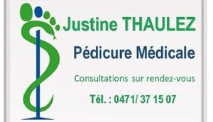 Pédicure médicale Justine