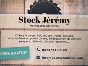 Stock Jérémy menuiserie générale