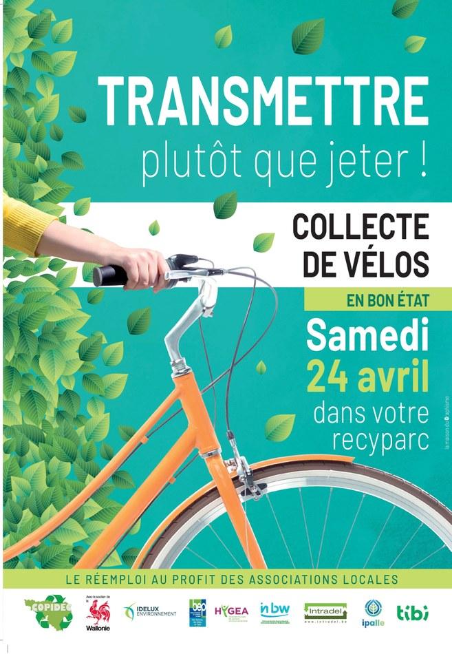 image collecte vélos
